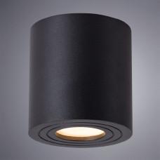 Влагозащищенный неповоротный точечный светильник Arte Lamp Galopin A1460PL-1BK
