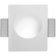 Встраиваемый в фальш-потолок гипсовый спот Arte Lamp INVISIBLE A3113AP-1WH