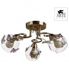 Люстра потолочная Arte Lamp ALESSANDRA A5004PL-3AB