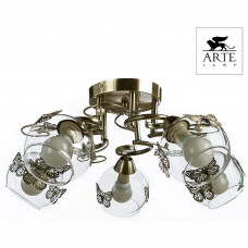 Люстра потолочная Arte Lamp ALESSANDRA A5004PL-5AB