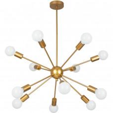Люстра потолочная Arte Lamp ALASTOR A6702PL-12PB