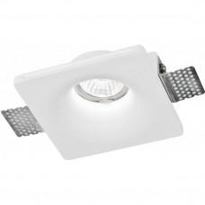Встраиваемый в фальш-потолок гипсовый спот Arte Lamp INVISIBLE A9110PL-1WH