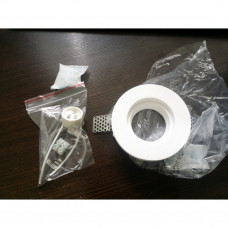 Встраиваемый в фальш-потолок гипсовый спот Arte Lamp INVISIBLE A9210PL-1WH
