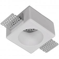 Встраиваемый в фальш-потолок гипсовый спот Arte Lamp INVISIBLE A9285PL-1WH